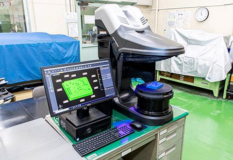 3Dスキャナ型三次元測定機 VL(キーエンス)