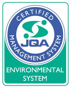 ISO14001:2015認証移行完了 ISO14001:2015 JQA-EM4743