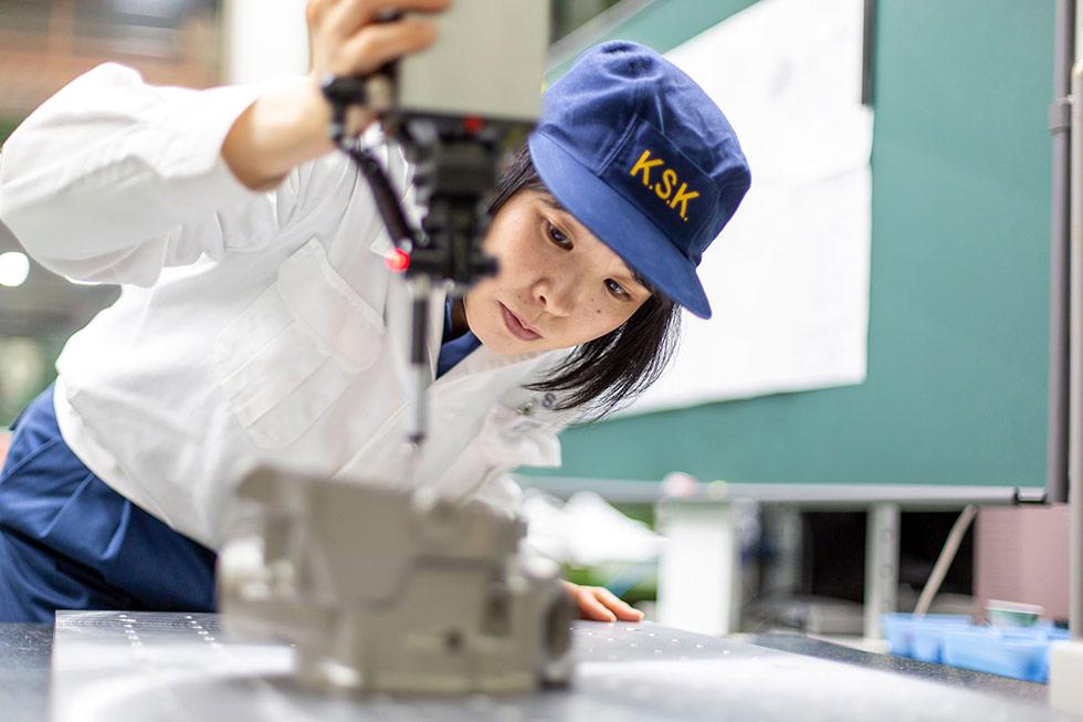 材料の選定から検査まで一貫したサービス体制