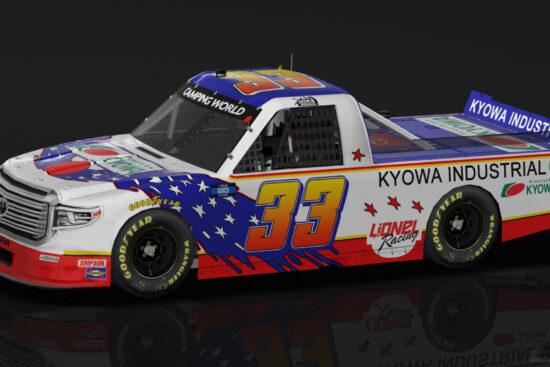 米国NASCAR Darlingtonレースのカーデザイン決定