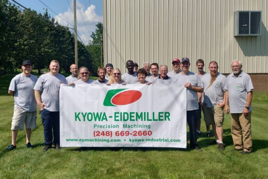 Kyowa Eidemiller Precision Machining, Inc.設立